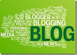Blog word cloud illustration