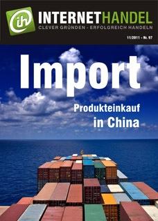Import von China Produkten