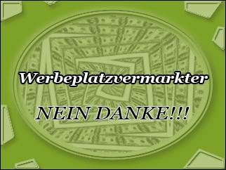Werbeplatzvermarkter - NEIN DANKE