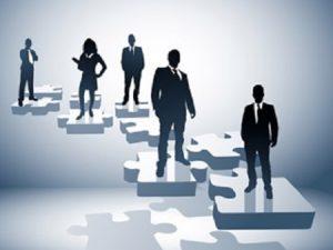 Verschiedene Führungsstile