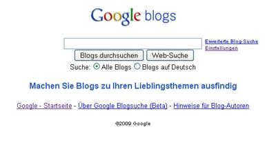 google-blogsuche
