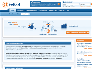 Teliad Presell Page