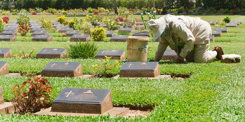 Selbstständig als Friedhofsgärtner